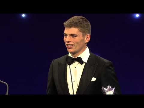 Max Verstappen - Rookie of the Year - Autosport Awards 2015