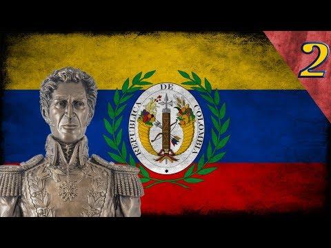"""Heart of Iron 4 - Millennium Dawn: Gran Colombia #2 """"La Gran Colombia Unificada"""""""