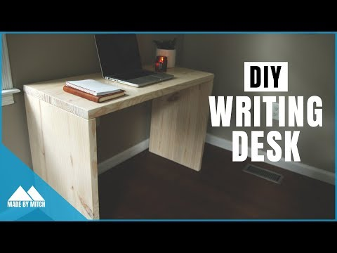 diy-modern-writing-desk