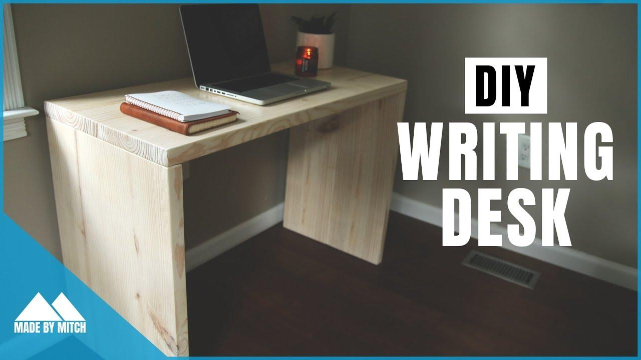 Diy Modern Writing Desk