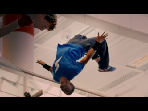 Parkour vs Motorcyclist: Race to the top of Television Centre - Top Gear: Series 20 - BBC Two