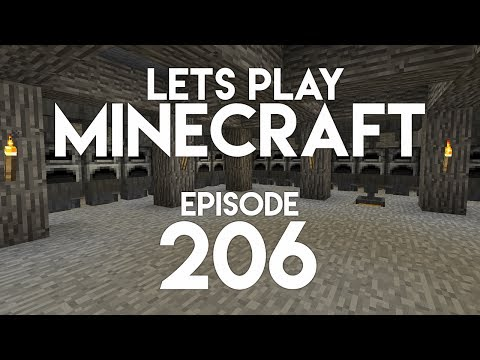 ►Let's Play Minecraft: SUPER SMELTER FAIL! (Episode 206)◄