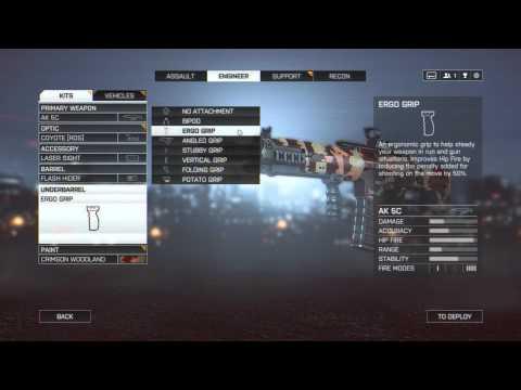 Battlefield 4: Engineering Class Kit Breakdown |