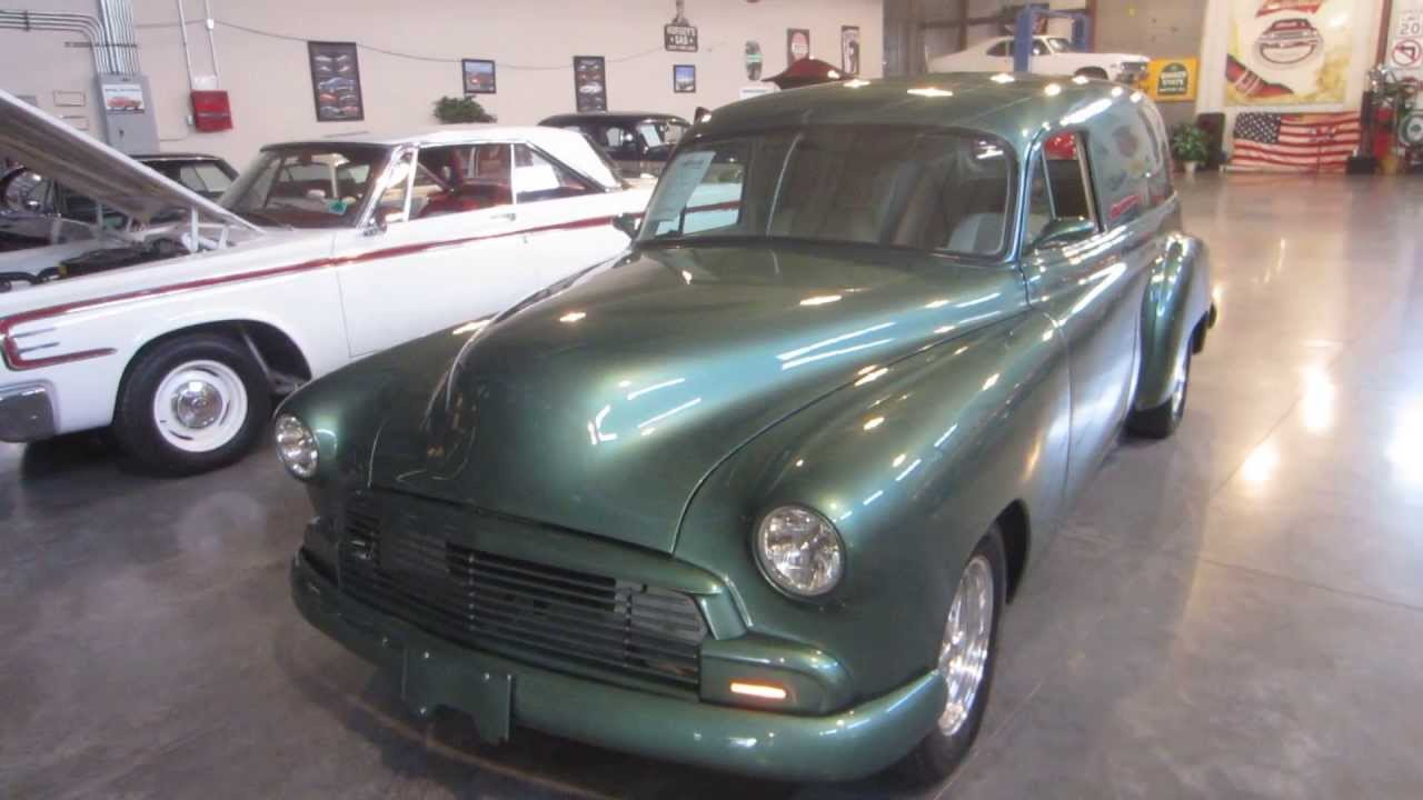 1951 chevrolet sedan delivery for sale passing lane motors classic cars st louis youtube. Black Bedroom Furniture Sets. Home Design Ideas