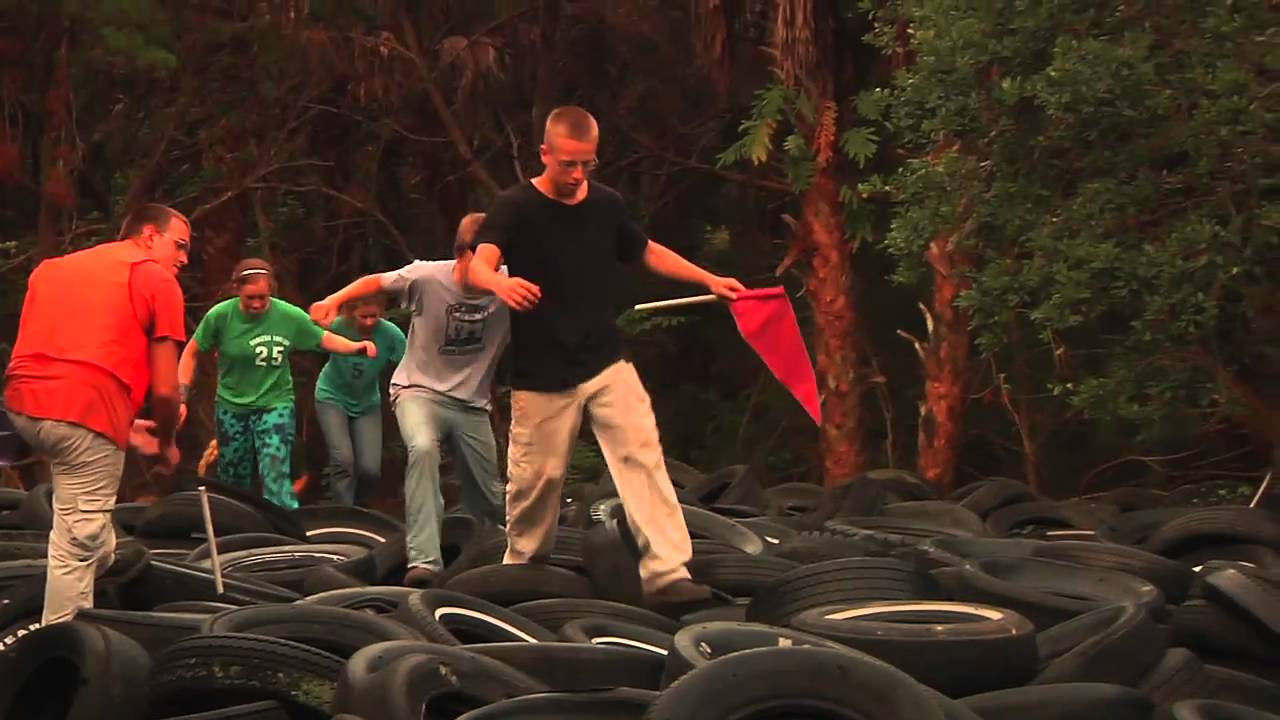 Teen Missions Boot Camp Obstacle Course - YouTube