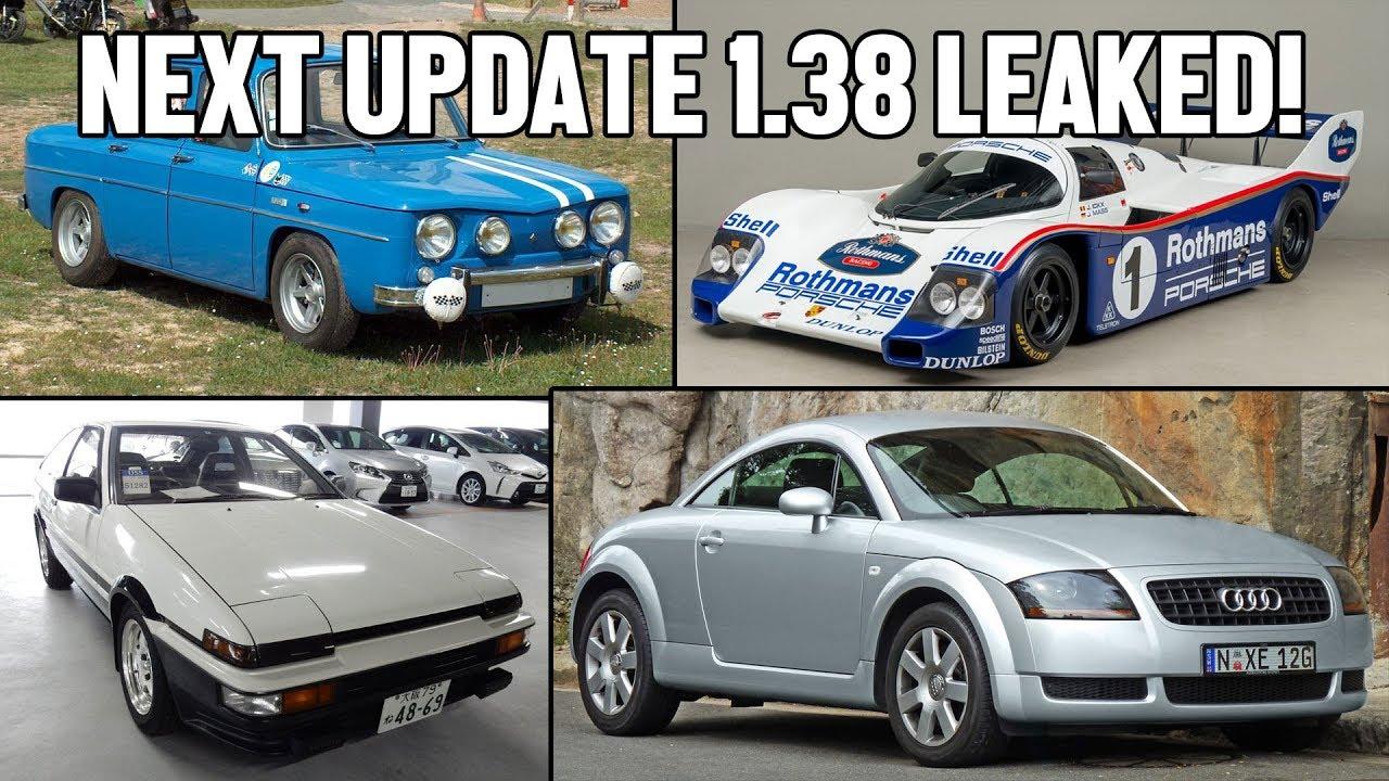 UPDATE 1.38 LEAKED!   Gran Turismo Sport