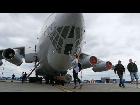 Ил-76 - полет на легендарном самолете