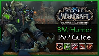 Beast Mastery Hunter PvP Guide - 8.0 Battle for Azeroth WoW