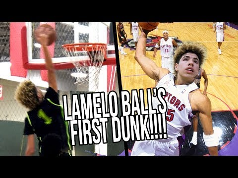 Thumbnail: LaMelo Ball's FIRST DUNK Starts CRAZY SEQUENCE! Big Ballers vs Los Angeles Elite FULL HIGHLIGHTS