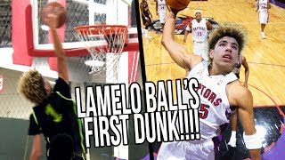 LaMelo Ball's FIRST DUNK Starts CRAZY SEQUENCE! Big Ballers vs Los Angeles Elite FULL HIGHLIGHTS thumbnail