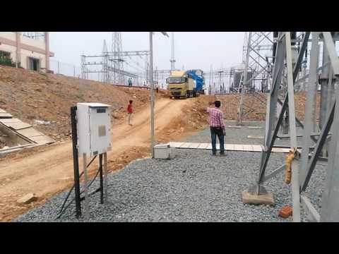 63 MVAr reactor PGCIL site at Chaibasa
