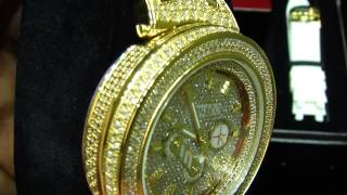 Don & Co Diamond watch 5.5 Carat Real Diamond Gold Watch $899.99 ( VNO : DW 3451)(, 2013-03-14T02:18:31.000Z)