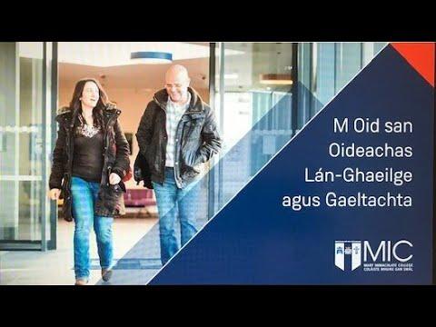 An M Oid san Oideachas Lán Ghaeilge agus Gaeltachta