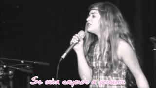 When I Look At You - Miley Cyrus  ( Cover Caroline Costa ) ( Traducida al español )