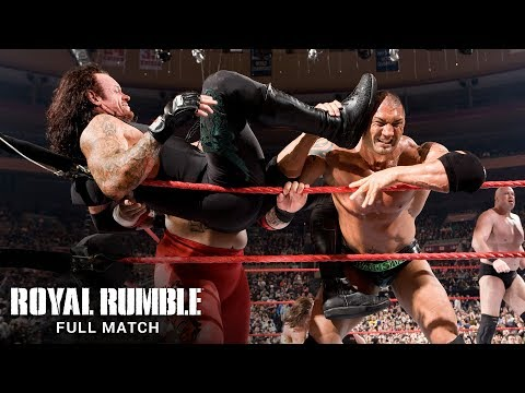 FULL MATCH - 2008 Royal Rumble Match: Royal Rumble 2008