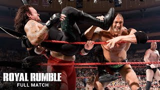 Madison square garden hosts an unforgettable royal rumble match featuring the undertaker, shawn michaels, triple h, batista and more superstars legends: ...