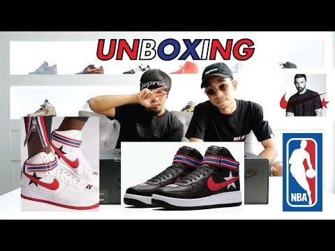 Episode 7 : Unboxing NIKE LAB AIR FORCE 1 HIGH X Riccardo Tisci