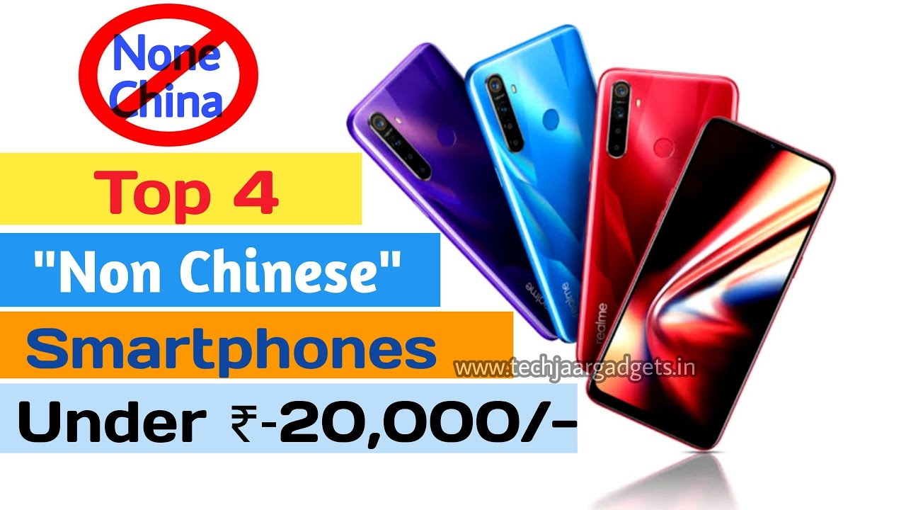 "Top 4 ""Non Chinese"" Smartphone Brands in India 2020 