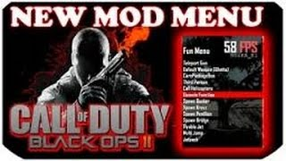 How To Install A Black Ops 2 Online Mod Menu {PS3} { GSC
