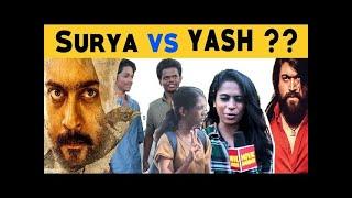 KGF 2 or SOORARAI POTRU ? Public opinion | People Reactions | Surya | Yash | Movie Darbar
