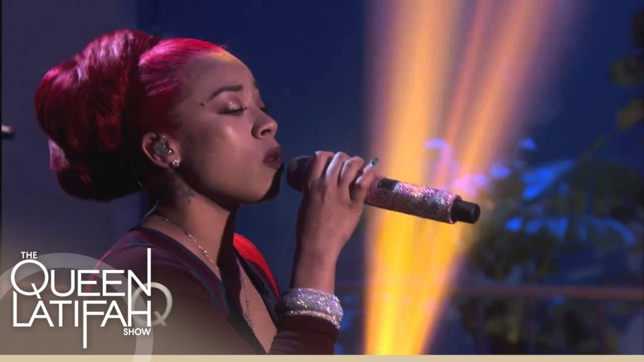 Keyshia Cole Performs!   The Queen Latifah Show