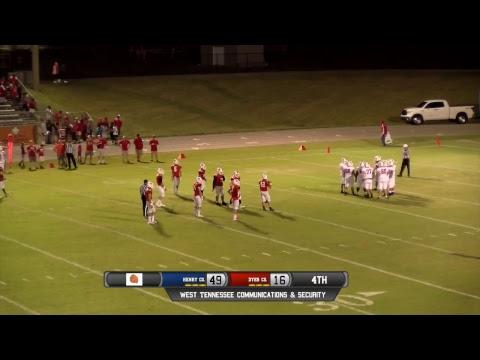 Choctaw Football VS Henry Co Patriots