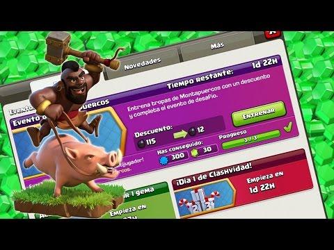 ¡¡EVENTO DE MONTAS!! Farmea recursos y gana gemas | Clash of Clans con TheAlvaro845 | Español