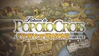 Return to PopoloCrois: A STORY OF SEASONS Fairytale Launch Trailer (EU)