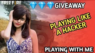 Free Fire Live Gameplay And Giveaways✓