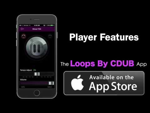 The Loops By CDub App: IOS & ANDROID