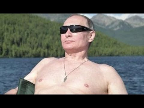 Putin Vacationing Shirtless In Siberia