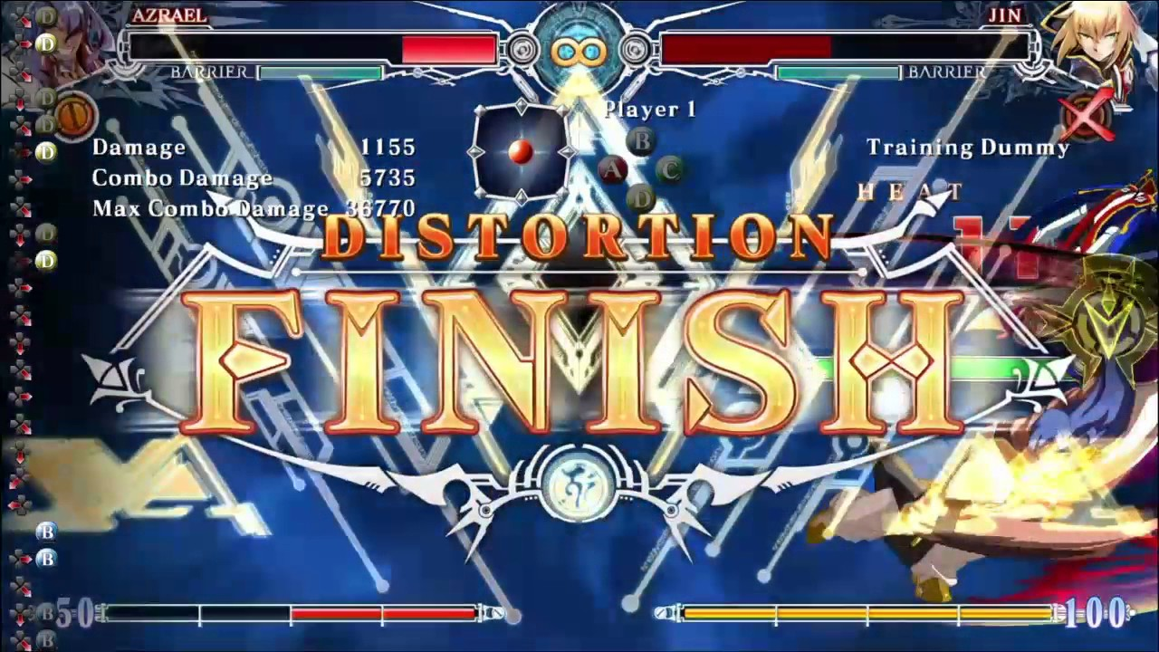 blazblue central fiction how to get points