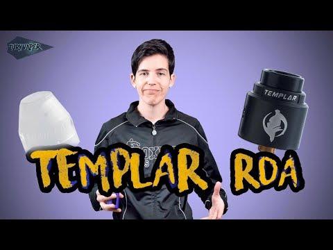 Augvape TEMPLAR RDA / El Atomizador Atomizado