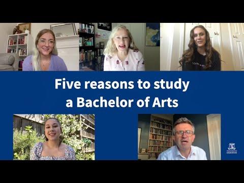5 reasons to study a Bachelor of Arts