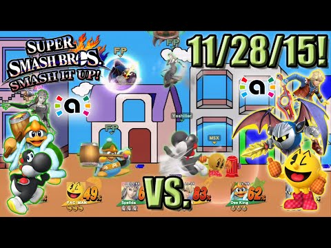 Super Smash Bros. - Smash It Up! (Wii U) - 11/28/15! Toy with the Team!