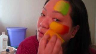 Blending Colors with a Sponge - Face Painting Tutorial Thumbnail