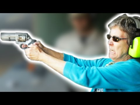 Grandmas Shoot Guns For The First Time