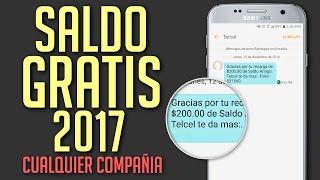 COMO TENER SALDO GRATIS 2017 + $200 DE REGALO | Tu Android Personal