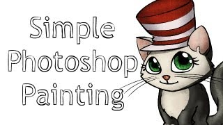 Simple Photoshop Painting Tutorial (Clipping Masks)