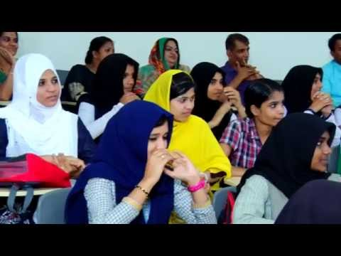 Students' Interaction with Dr. Azad Moopen at MILES