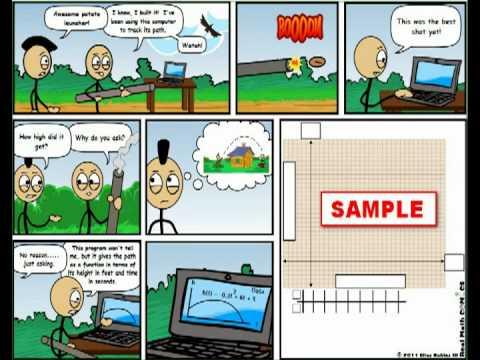 Comic strip for algebra teachers