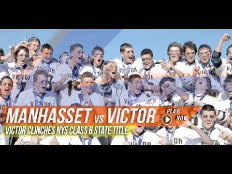 Manhasset (NY) vs Victor (NY) | 2015 NYS Class B State Final