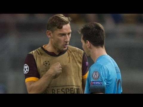 Francesco Totti Respect, Meets Batista, Federer, Messi & Fans