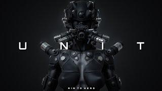 [FREE] Dark Cyberpunk / Midtempo / Industrial Type Beat 'UNIT' | Background Music
