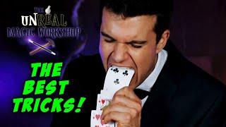 Gambar cover 5 BEST magic tricks - UNREAL Magic Workshop - Jonas Jost - Episode 7