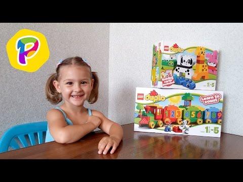 LEGO Duplo 10558 Считай и играй.  Собираем паровозик.