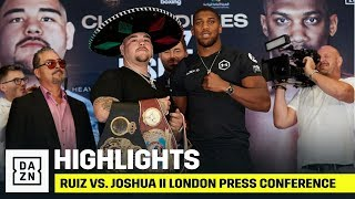 HIGHLIGHTS | Ruiz vs. Joshua II London Press Conference