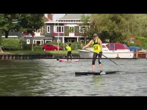 Suppers strijden in Haarlem om NK Sup Distance