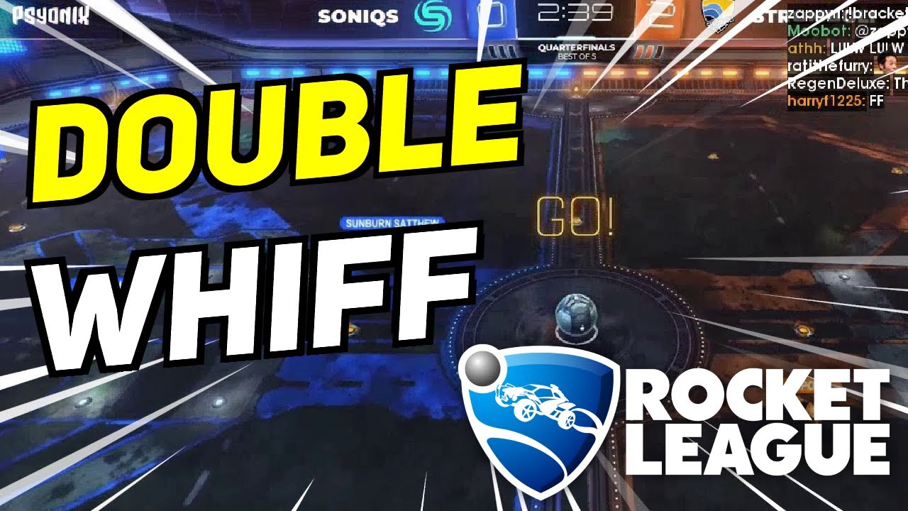 Daily Rocket League Highlights: CLT WITH THE DOUBLE WHIFF