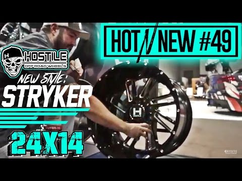 Hot n New Ep. 49: Hostile Stryker 24x14 Gloss Black
